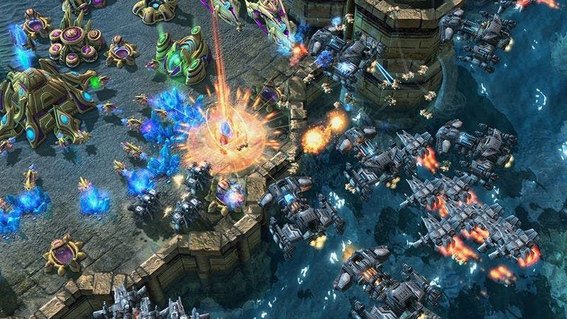 Illustration for article titled Blizzard Making Some Changes To StarCraft II