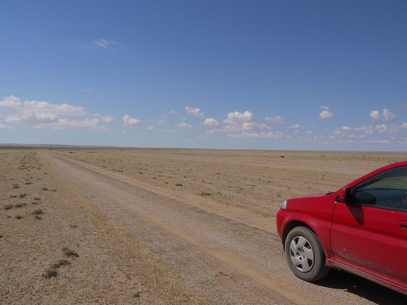 Illustration for article titled Driving a 2004 Honda HR-V in the Gobi Desert