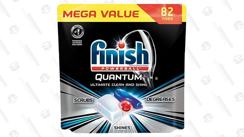 Finish Quantum Powerball Dishwasher Tab 82-Pack | $14 | Amazon | Clip the $4 Off coupon