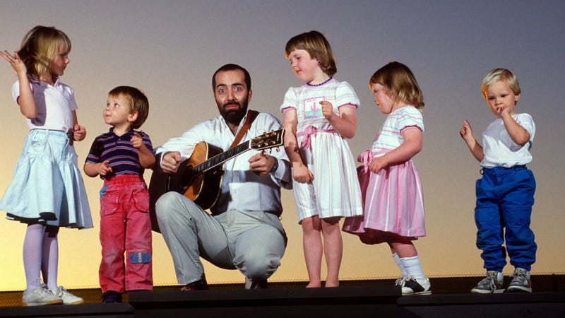 Illustration for article titled Alert: Children's music legend Raffi is out here fighting fascists