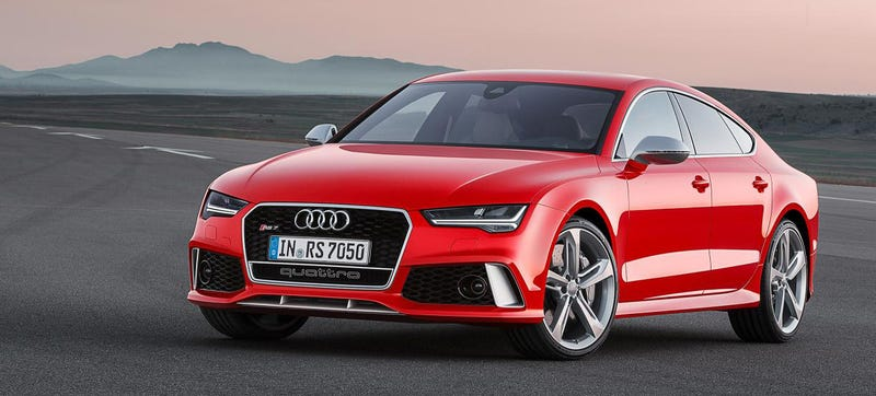 Illustration for article titled The 2015 Audi RS7 Gets New LEDs Because It's An Audi