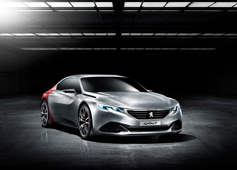 Illustration for article titled There's A New Peugeot Coupé Coming To Beijing