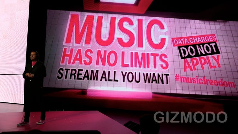 Illustration for article titled T-Mobile Will Let You Stream Music For Free