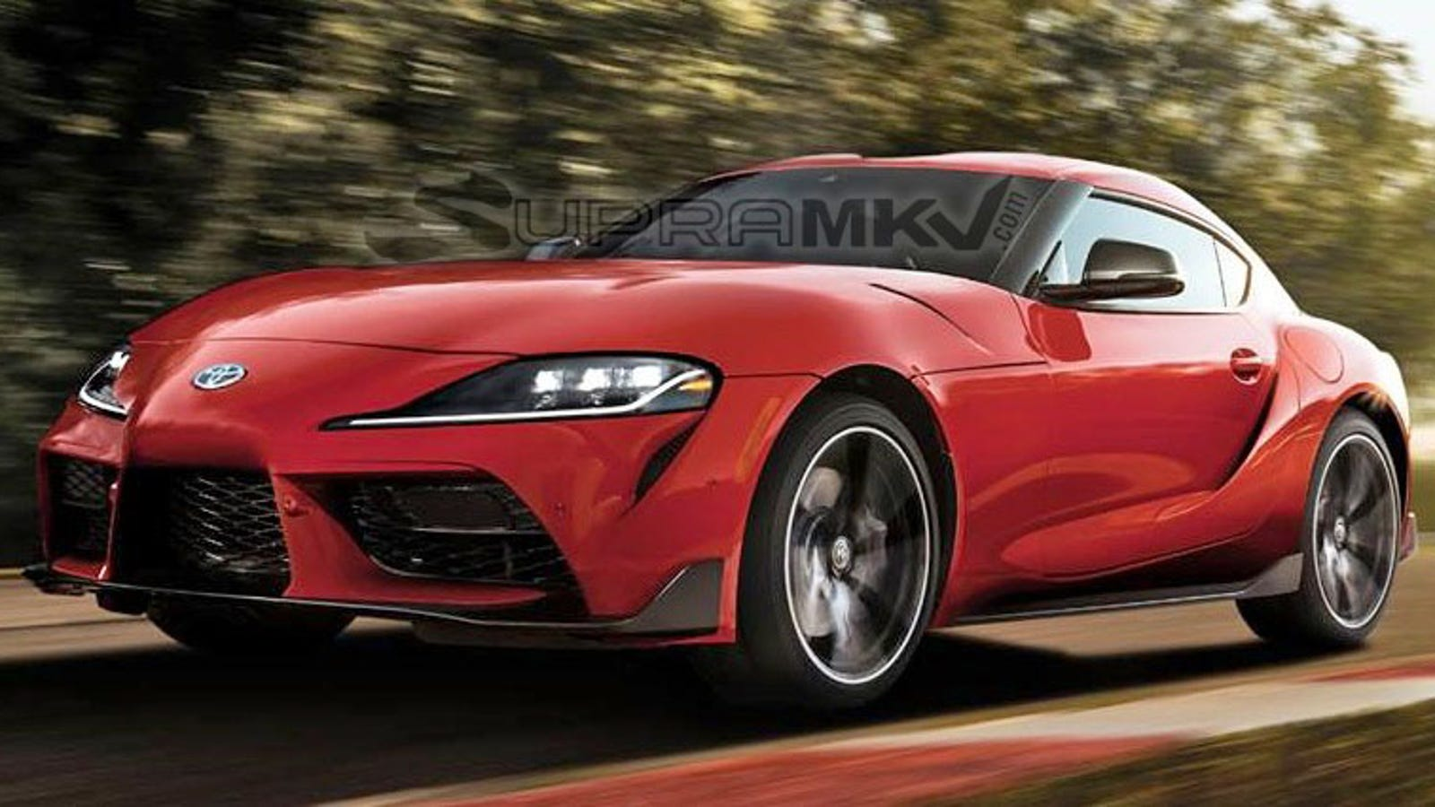 The 2020 Toyota Supra Leaked Again, Claimed to Start At $49,990