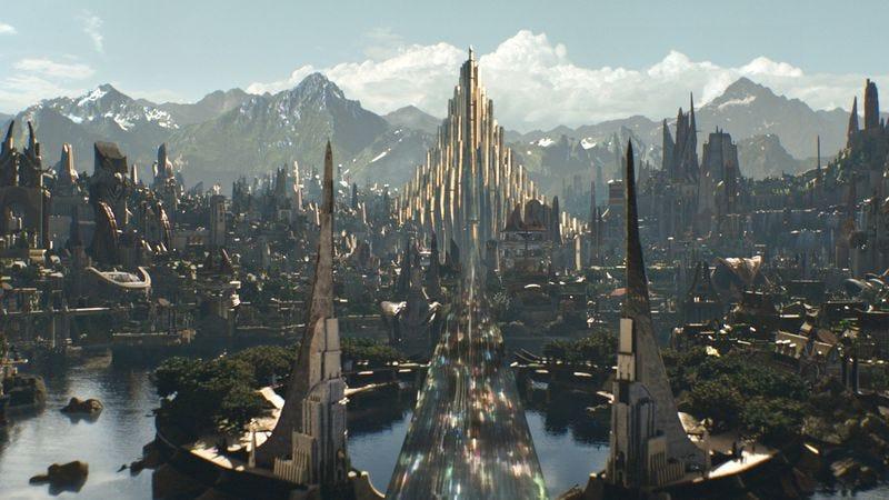 Asgard in Thor: The Dark World