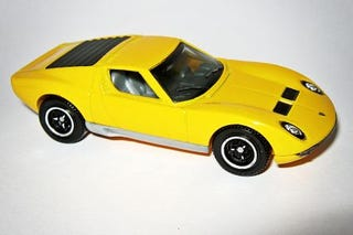 Illustration for article titled Running of the Bulls: Matchbox Lamborghini Miura