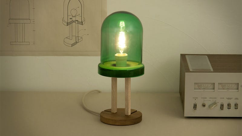 The World's First LED Inspired This Giant LED Lamp
