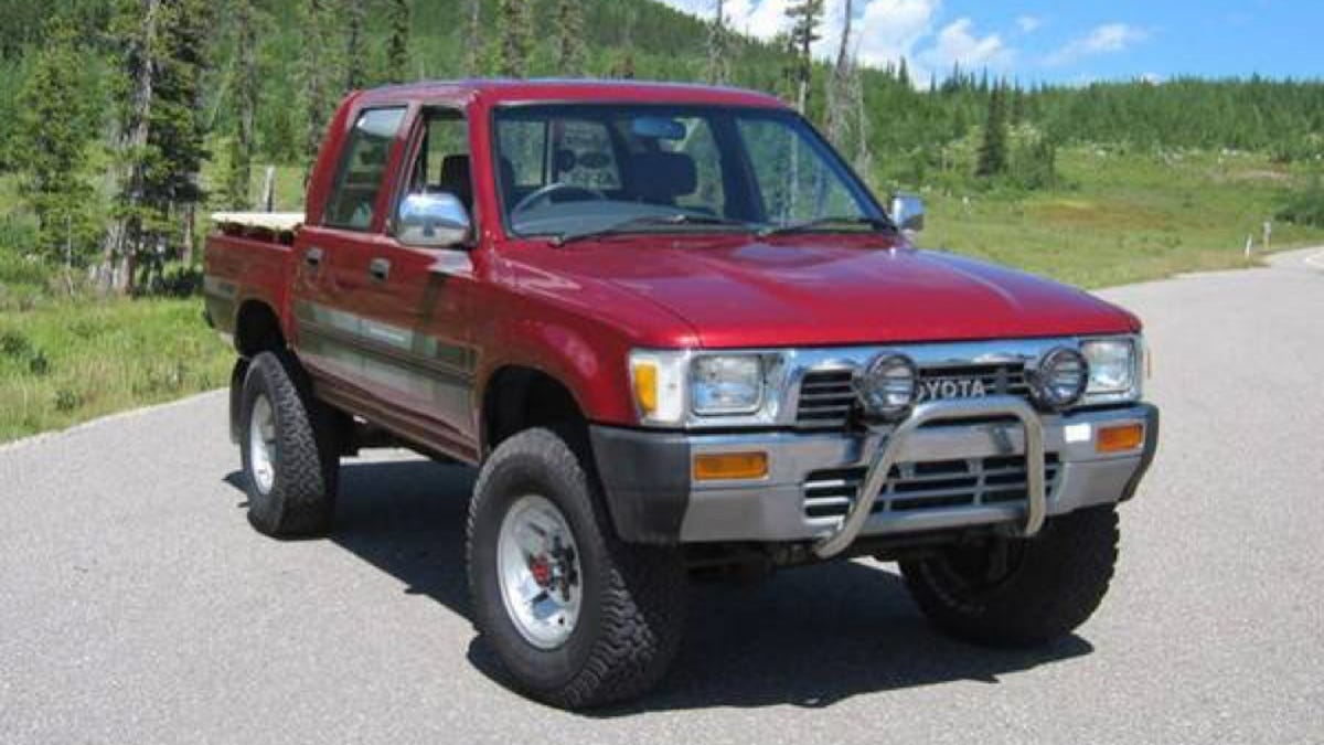 Well, Here's What A Genuine Toyota Hilux Diesel Sells For In
