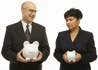 """Illustration for article titled US Chamber Of Commerce: Equal-Pay Advocates Have """"A Fetish For Money"""""""