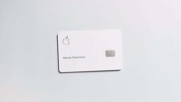 Apple PromisesIts New Credit Card Is a Privacy-Protecting Beast