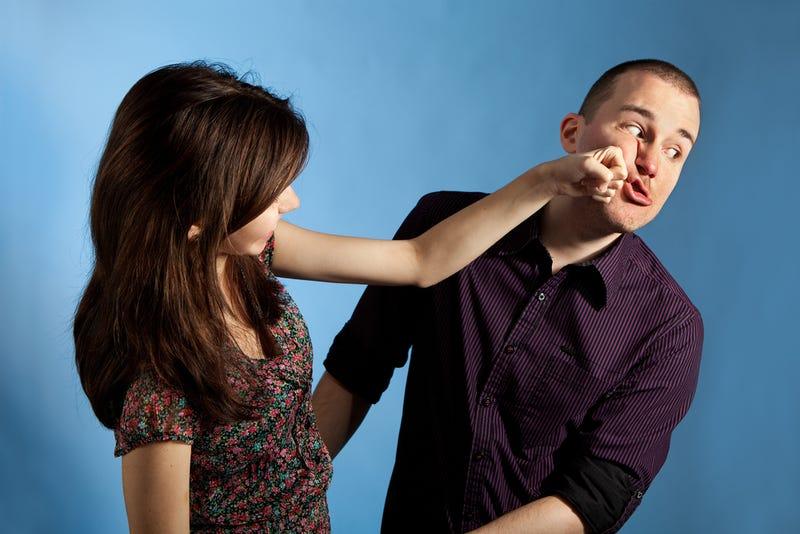 Женщины бьют мужиков фото