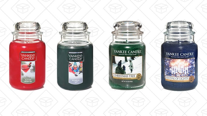 50% off candles and car scents with the code FIFTYOFF