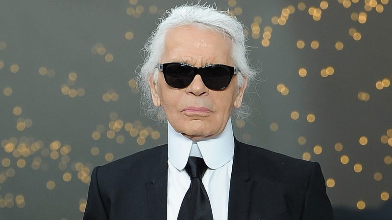 """Illustration for article titled Karl Lagerfeld Thinks Adele Lost Weight Because He Called Her """"Fat"""""""