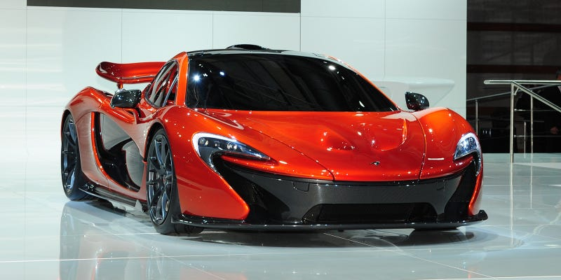 Illustration for article titled The McLaren P1: Making Hyper-Advanced Aerodynamics Gorgeous