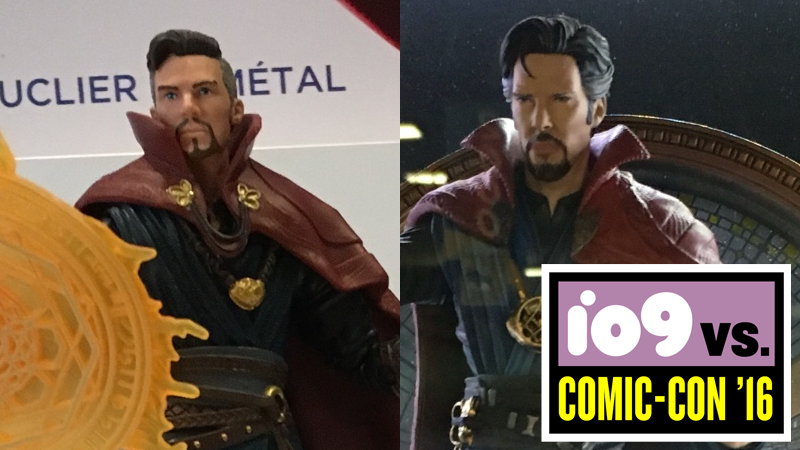 Illustration for article titled Which Doctor Strange Toy Has the Weirdest Hairdo?