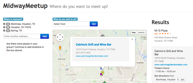 Illustration for article titled MidwayMeetup Finds a Central Location to Meet Up With Someone