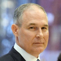Scott PruittAdministrator of the Environmental Protection Agency