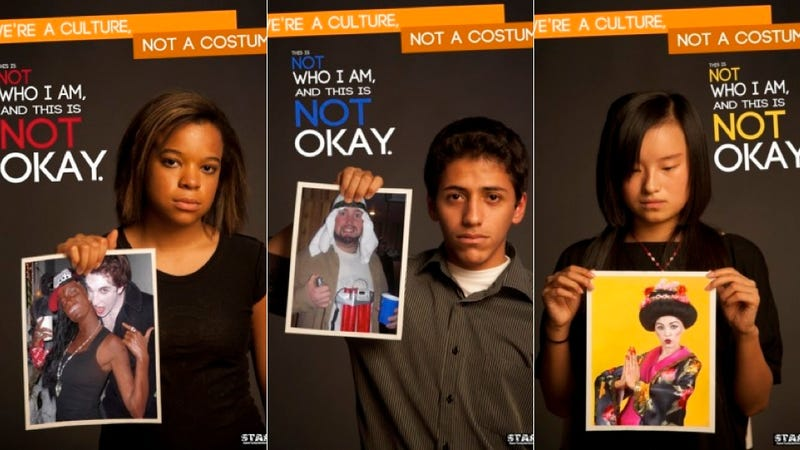 Illustration for article titled Students Campaign Against Racist Halloween Costumes