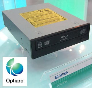 Illustration for article titled Sony/NEC's Optiarc Busts Out Five Blu-ray Burners at CeBIT, No HD DVDs in Sight