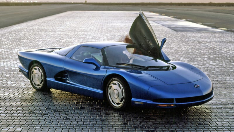 The 1990 CERV-III Concept. Photo credit GM