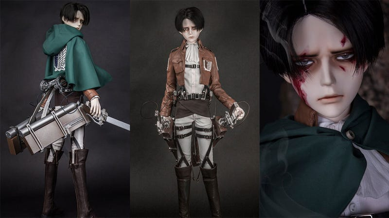 Illustration for article titled Attack On Titan Figure Costs $1200, Still Sells Out