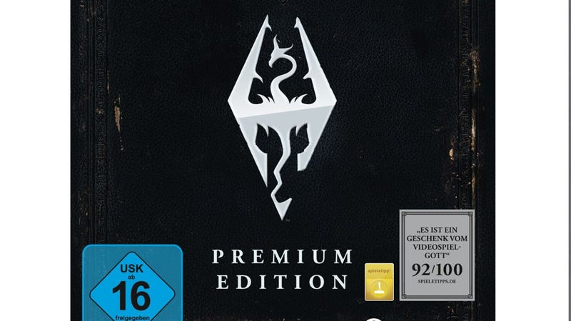 Illustration for article titled Skyrim Will Be Getting a Premium Edition, According to Amazon Listing [Update: Europe Only]