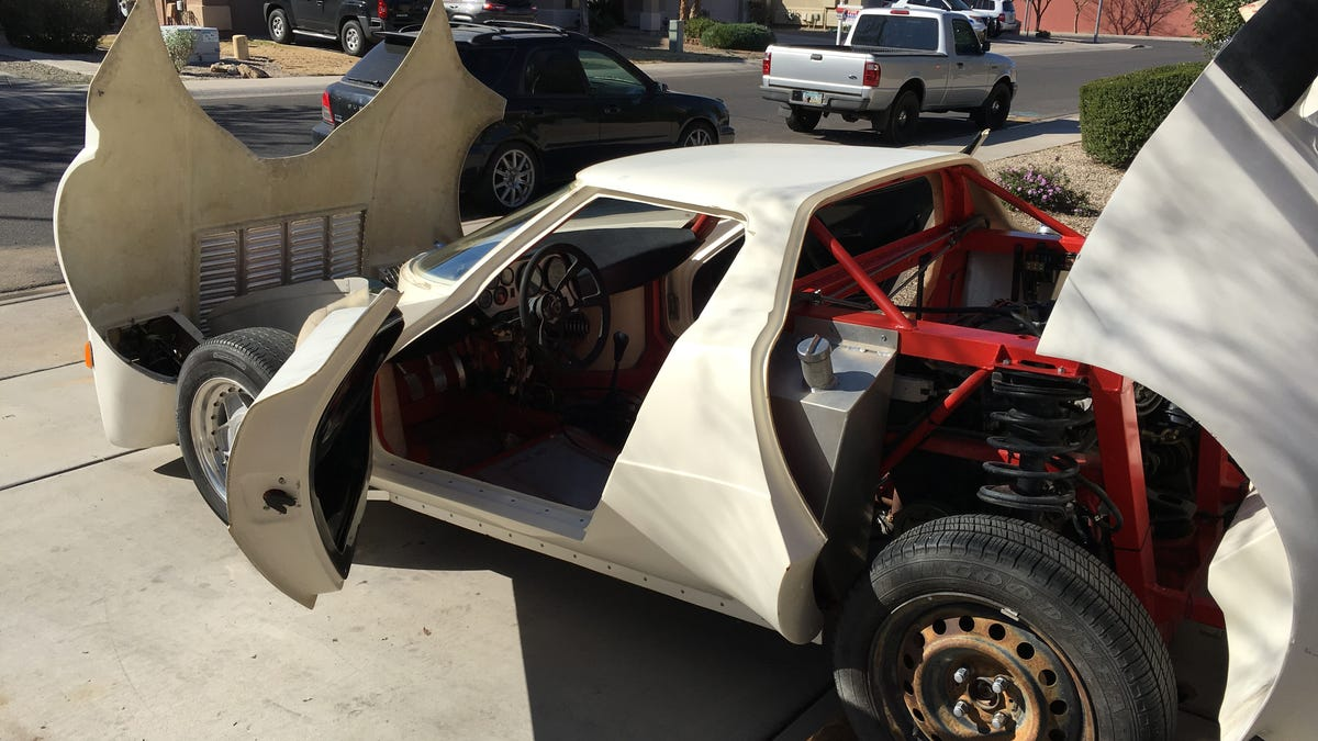 This Honda Powered Lancia Stratos Kit Car Is As Close As You Get To