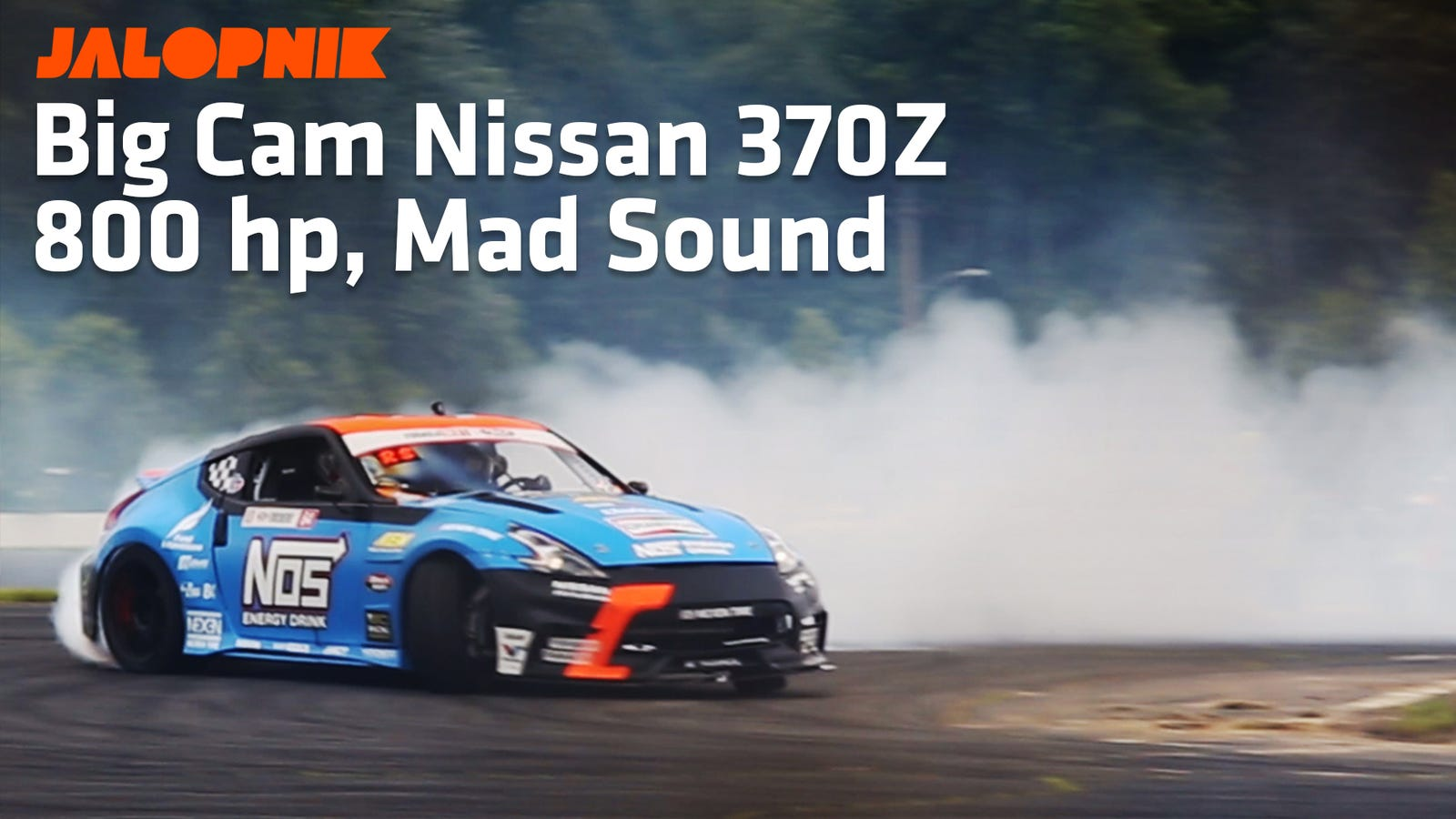 Why Chris Forsberg's 800 HP V6 Nissan 370Z Idles Like A Muscle Car