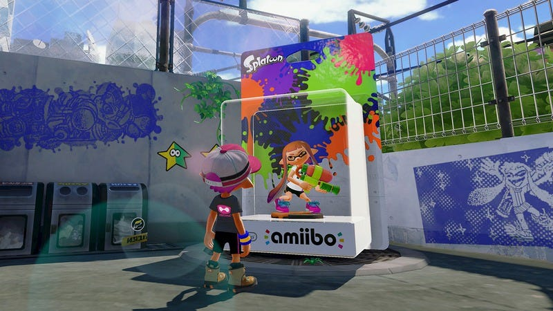 Illustration for article titled Checking in on Splatoon's lively community and sleazy amiibo support