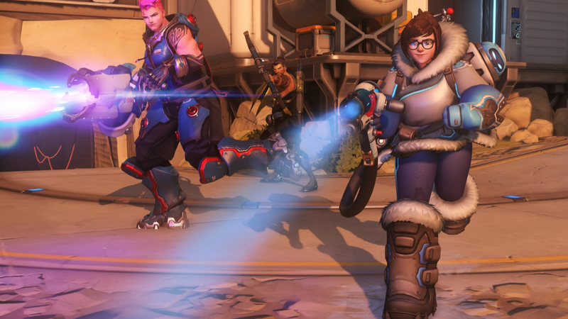 Illustration for article titled Overwatch Player Takes Mei's Trolling To New Heights