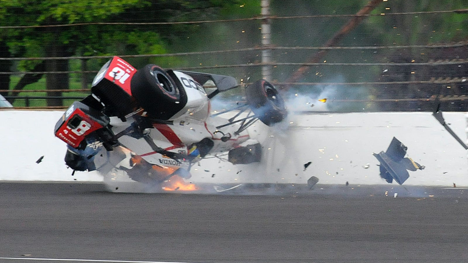 Driver Badly Injured In Indy 500 Qualifying Crash Will Race Just Three Months Later