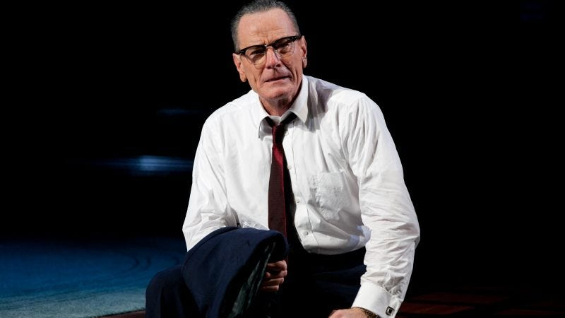 Illustration for article titled Bryan Cranston's LBJ may be coming to television