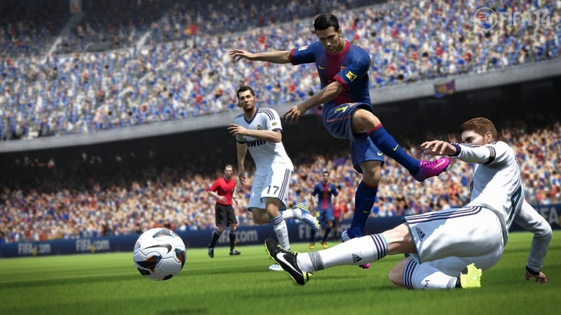 Illustration for article titled Wii U Left Out of Another Major Sports Release with FIFA 14
