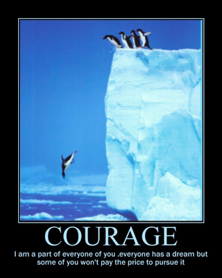 Illustration for article titled Today In Jose Canseco Tweets As Motivational Posters: Courage