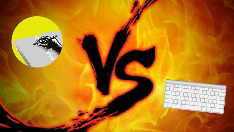 Journaling Showdown: Writing vs. Typing