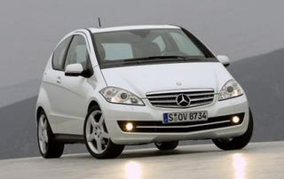Illustration for article titled 2009 Mercedes-Benz A-Class Gets Facelift, Still Not For America