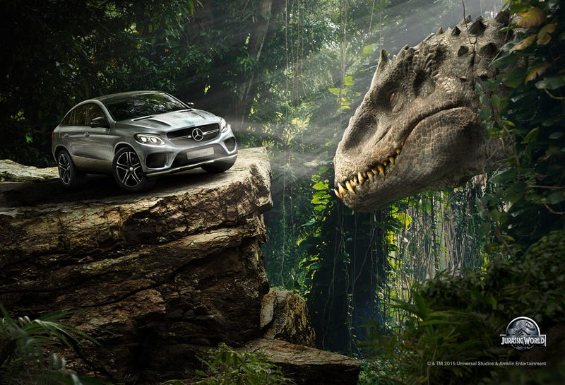 Illustration for article titled Jurassic World Already Cashing In On Terrible Product Placement