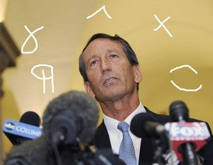 Illustration for article titled The Mark Sanford Emails: A Textual Analysis