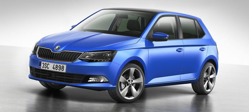 Illustration for article titled The New Skoda Fabia Makes Me Wanna Build A Rally Car