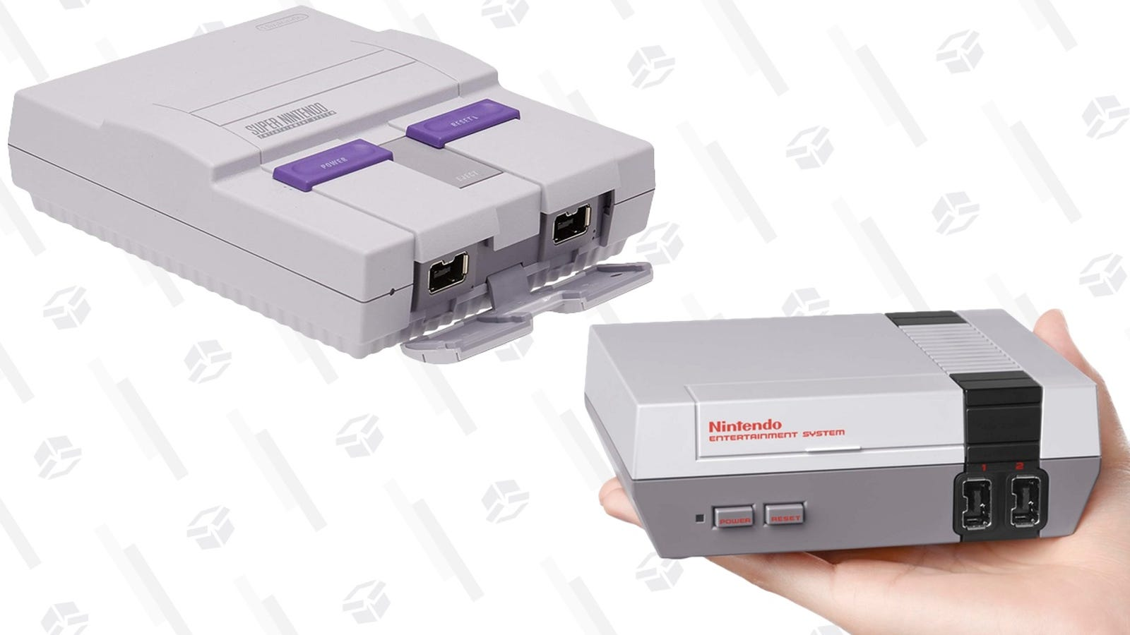 The SNES and NES Classics Are Both In Stock Right Now