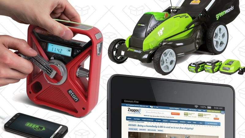 Illustration for article titled Sunday's Best Deals: Fire HD 6, GreenWorks Tools, Weather Radios