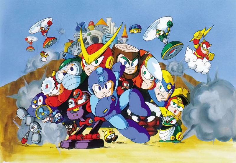 Illustration for article titled The Brilliant Use Of Speed In Mega Man 2's Quick Man Stage