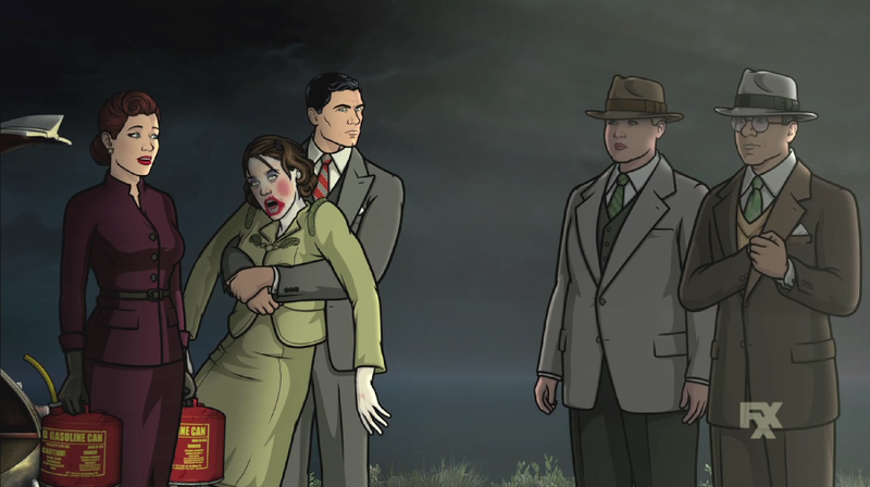 Illustration for article titled Archer Returns April 5th Completely Redesigned As A Noir Film