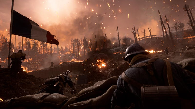 Illustration for article titled Battlefield 1's Winter Update Adds Ribbons, Increases Class Level Cap