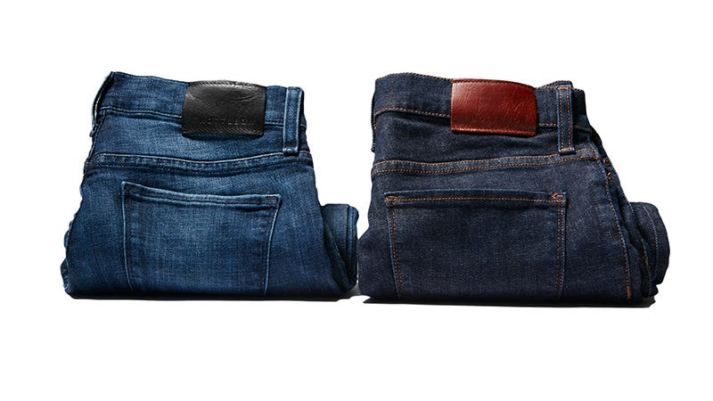 Illustration for article titled Get A Free T-Shirt When You Buy Any Pair Of Handmade Mott & Bow Jeans