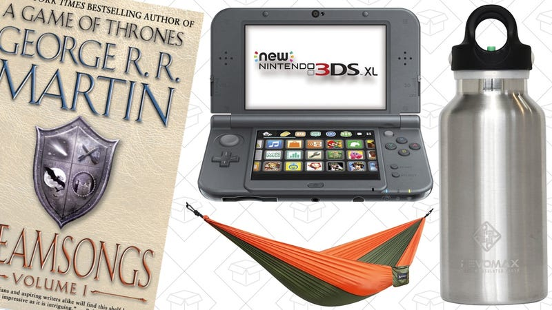 Illustration for article titled Sunday's Best Deals: $2 Kindle Books, Camping Hammock, 3DS XL, and More
