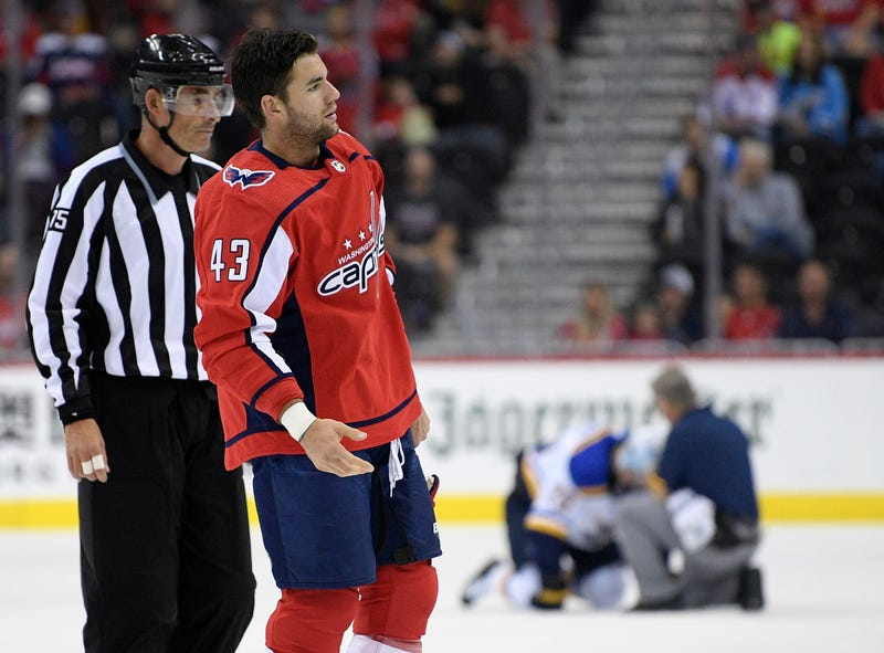 Illustration for article titled Why Tom Wilson's Suspension Was Reduced From 20 Games To 14
