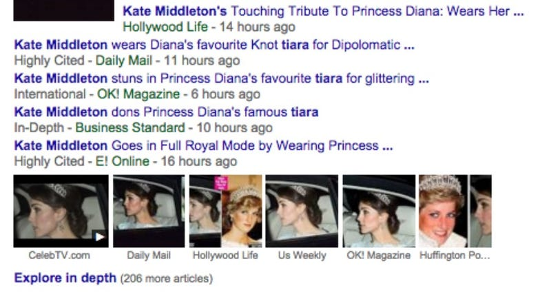 Illustration for article titled It's So Interesting That Kate Middleton Wore That Tiara, Wow
