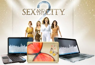 Illustration for article titled Does Carrie Give Up Her Mac For a HP Netbook in SATC2?