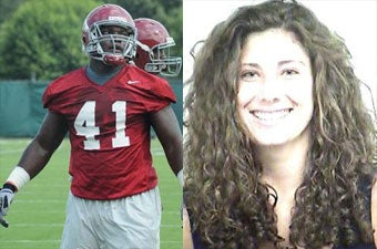"""Illustration for article titled Father Chooses Alabama Football Player Over His Own Daughter In """"Lovers' Quarrel"""""""